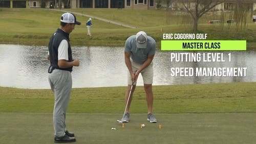 Putting Master Class Level 1 - Speed Management