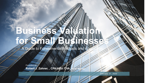 Business and Retirement Valuation in Equitable Distribution (1 PA Substantive CLE Credit)