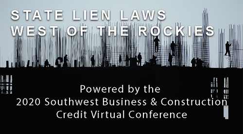 State Lien Laws West of the Rockies