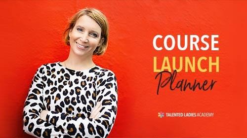 Course Launch Planner