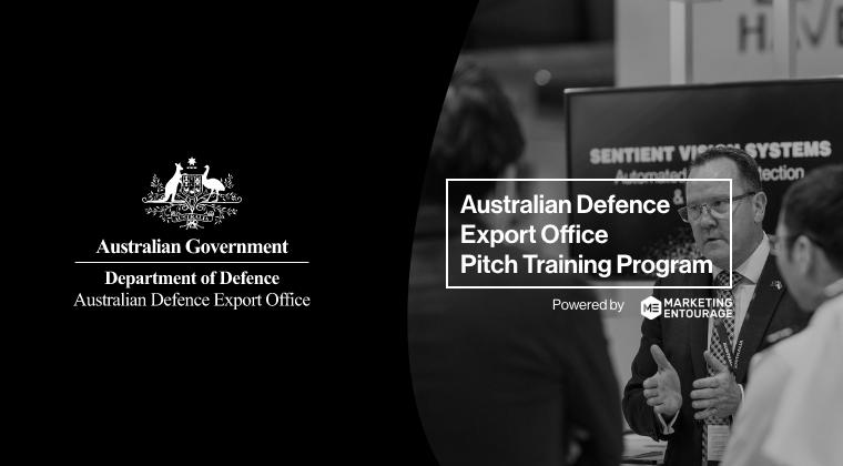 Australian Defence Export Office Pitch Training Program Feb 2021