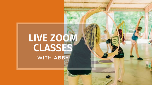 Live Zoom Classes with Abby