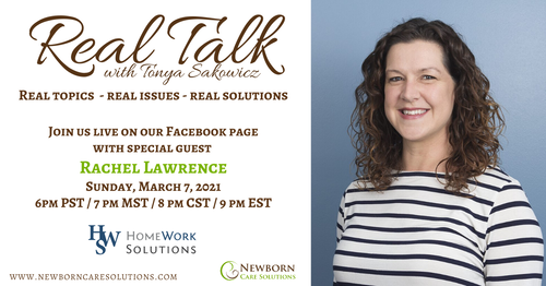 Real Talk with Rachel Lawrence (Mar 2021)