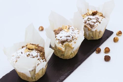 Muffins de Chocolate y Avellana