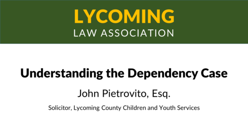 Understanding the Dependency Case (1 PA Substantive CLE)