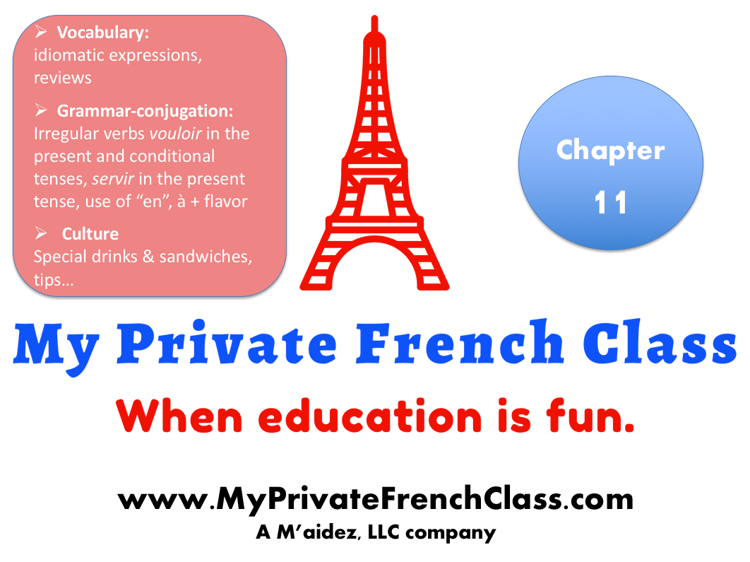 French Beginners - chapter 11 - 1 month access