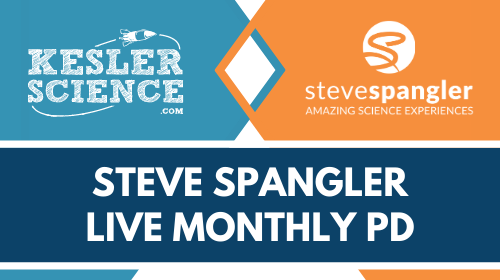 Spangler Everyday STEM May '21 - Live Monthly PD