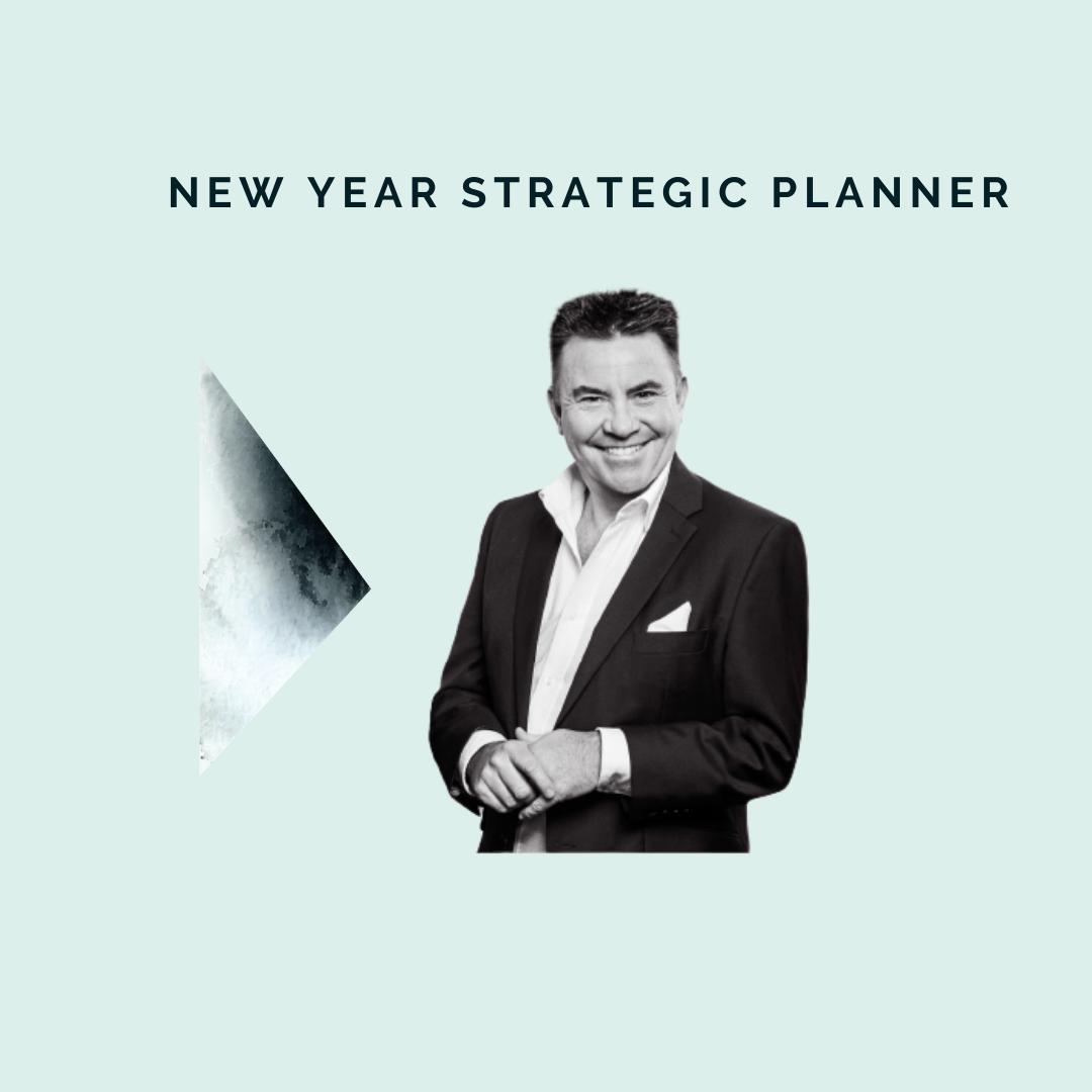 **New Year Business Strategic Planner