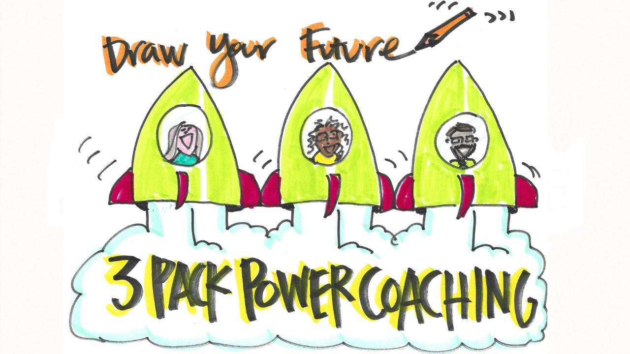 Draw Your Future 3-Pack Power Coaching Starting Nov 17th at 7:00AM of 7PM CST